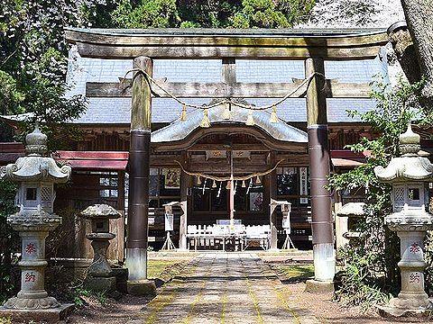 福島県の神社のキャプチャー