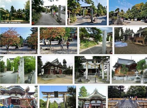 新川神社 富山県富山市新庄町のキャプチャー