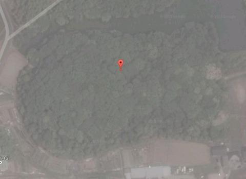 新木山古墳(奈良県・北葛城郡) by Googleアース - ぶっちゃけ古事記