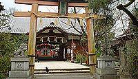 許波多神社(五ヶ庄) - 勝運の神、過去に競馬の神事や関連神像で「馬の神社」