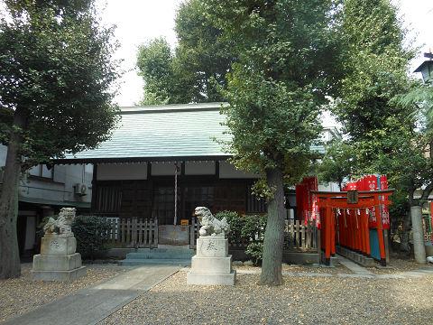 北野神社「牛天神」近くにある境外社? 諏訪神社 - ぶっちゃけ古事記