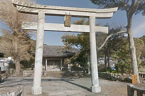 八幡神社 静岡県伊豆市小土肥のキャプチャー