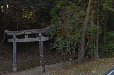 佐々神社 三重県伊賀市音羽のキャプチャー
