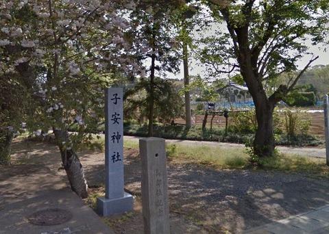 子安神社 茨城県かすみがうら市東野寺のキャプチャー