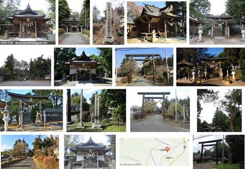 立野神社 茨城県常陸大宮市上小瀬のキャプチャー
