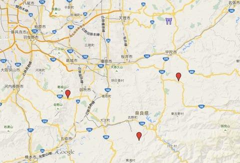 都祁水分神社 奈良県奈良市都祁友田町のキャプチャー