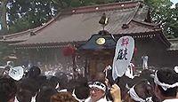 焼津神社 - 日本武尊の功徳を敬って創建された式内の古社、「東海一の荒祭」で知られる