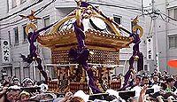 五條天神社 - ヤマトタケル創建の医薬祖神、3年に一度の大神輿渡御がある、下谷天神