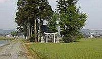 熊野神社(熊野道) - 寛延2年や嘉永6年の棟札が残るヤンドの宮、式内社の論社の一つ
