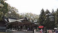 岐阜護國神社 - 市内で最も早く開花する鵜飼桜、春秋季の献灯や子供相撲など河童祭り