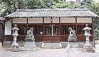 高屋安倍神社 - 若櫻神社の本殿西側に鎮座する、阿部氏の祖オオビコを祀る名神大社