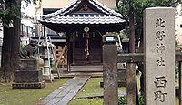 北野神社 東京都中野区中央のキャプチャー