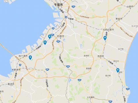 延喜式神名帳 上総国の式内社 5座のキャプチャー