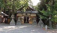 植木神社 三重県伊賀市平田のキャプチャー