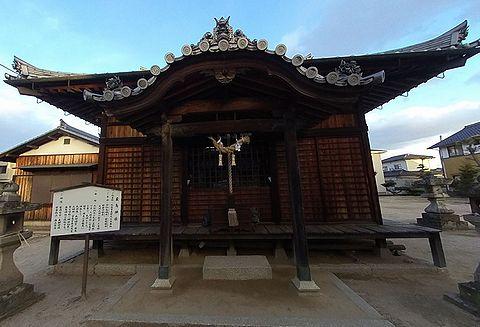 嚴島神社 岡山県総社市真壁のキャプチャー