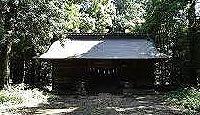 阿彌神社(阿見町竹来) - 普都神話に由来する竹来三社とも呼ばれた信太郡二宮、式内社