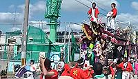 石屋神社(淡路市) - 天地大明神、伊弉諾尊の幽宮の伝承、1月に島内一の賑わいの十日戎