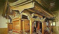 大館八幡神社 - 秋田大館市、大館城中の守護神で内町16町の総鎮守、2棟の神殿が重文