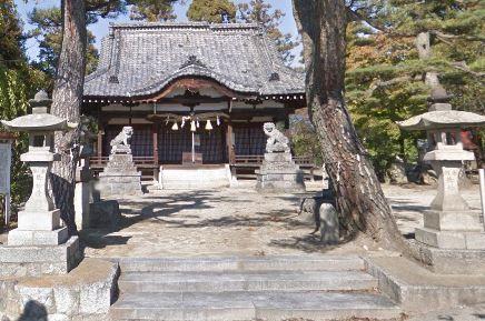 金櫻神社 山梨県山梨市歌田のキャプチャー