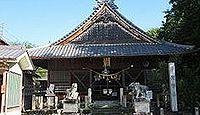 太部古天神社 岐阜県加茂郡川辺町中川辺のキャプチャー