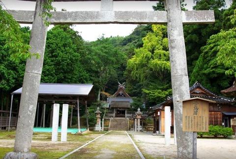 内神社 島根県松江市大垣町のキャプチャー