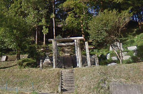 野見神社 愛知県豊田市榊野町見切のキャプチャー