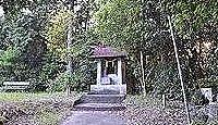 都麻都姫神社(平尾) - 現在は小祠も、かつては広大な境内に荘厳な社殿、伊太祁曽三神