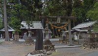 六所神社 静岡県浜松市浜北区宮口