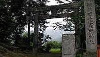 甲波宿禰神社(箱島) - 小野金善が川島から勧請した宿祢大明神、大ケヤキやコナラなど