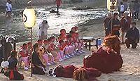 小川阿蘇神社 - 平安期に阿蘇神社を勧請、夏祭りと秋祭り、大楠と、社前のかき氷屋さん