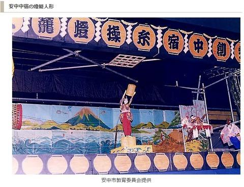 重要無形民俗文化財「安中中宿の燈篭人形」 - 群馬の諏訪神社例祭の際の農民芸能のキャプチャー
