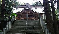 愛宕神社 (笠間市) - 式内論社の境内社・飯綱神社「悪態まつり」が有名な火防の社
