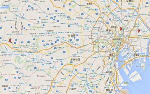 関東三大天神 - 東京都にある有力な三天満宮、亀戸天神社・湯島天満宮・谷保天満宮