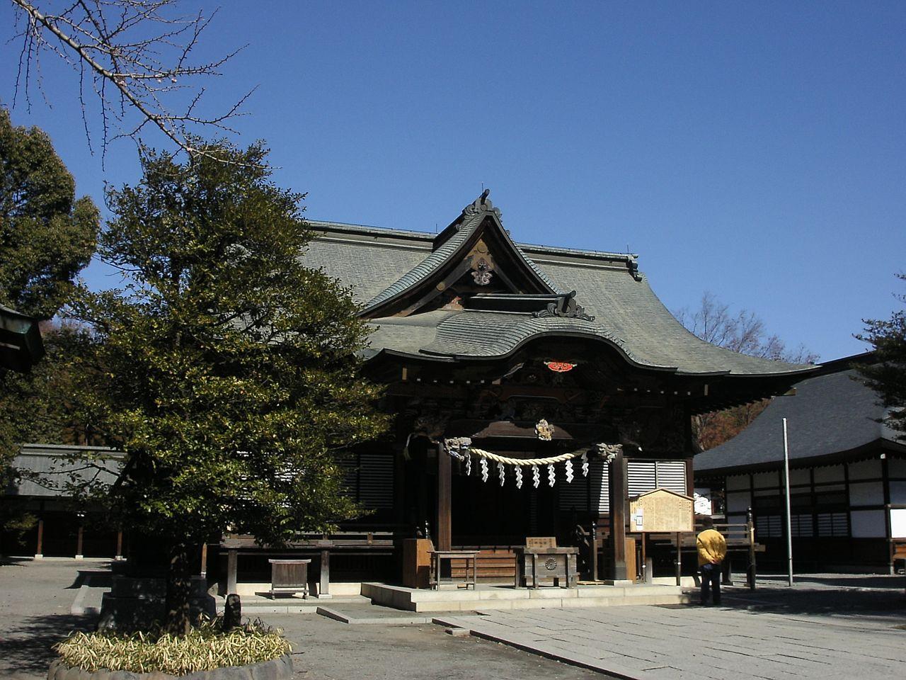 [御祭神がアメノミナカヌシノカミ]初詣で人気の神社のキャプチャー