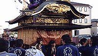 安達太良神社 - 安達太良山と大名倉山の神々を勧請した明神様、10月秋祭りは太鼓台と神輿