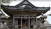 水嶋礒部神社 新潟県糸魚川市筒石