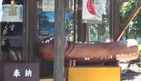 弓削神社(熊本市) - 通称「ホウオウさん」、男女の性器を献じる風習がある神社