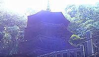 国宝「安楽寺八角三重塔」(長野県上田市)のキャプチャー