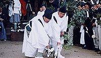重要無形民俗文化財「樋越神明宮の春鍬祭」 - 毎年2月11日に行われる稲作の予祝行事
