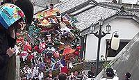 八坂神社(郷ノ浦町) - 戦国期の勧請、厳島を合祀、7月に石段を登る壱岐郷ノ浦祇園山笠