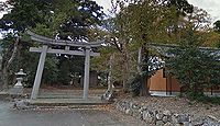 国津神社 福井県三方上中郡若狭町向笠のキャプチャー
