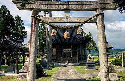 神明宮 富山県南砺市桐木のキャプチャー