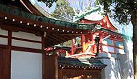 赤留比売命神社 - 『古事記』のアカルヒメが坐す社、住吉大社とも関連、杭全神社境外社