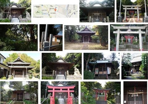 御霊社 神奈川県横浜市栄区田谷町のキャプチャー