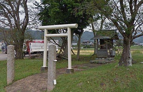 田中神社 岐阜県加茂郡川辺町比久見のキャプチャー