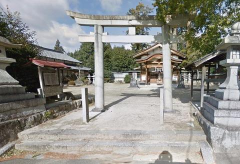 比自岐神社 三重県伊賀市比自岐のキャプチャー