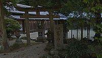 葛神社 奈良県奈良市藺生町のキャプチャー