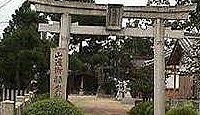 山辺御県神社(西井戸堂町) - 重文の十一面観音像を祀る観音堂の鎮守か、道長も宿泊