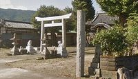 八幡神社 徳島県吉野川市川島町児島前池北