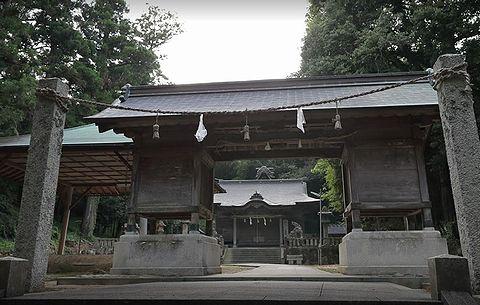筑陽神社 島根県松江市東出雲町下意東宮山のキャプチャー